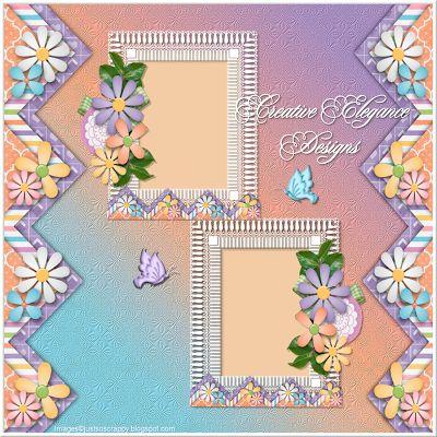 Scrapbooking TammyTags -- TT - Designer - Creative Elegance Designs, TT - Item - Quick Page