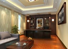 CEO Office Decor | Elegant Furniture In CEO Office | 3D House, Free 3D House