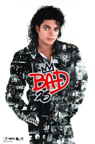 Michael Jackson - Bad 25 - Promo Poster - Mini Print