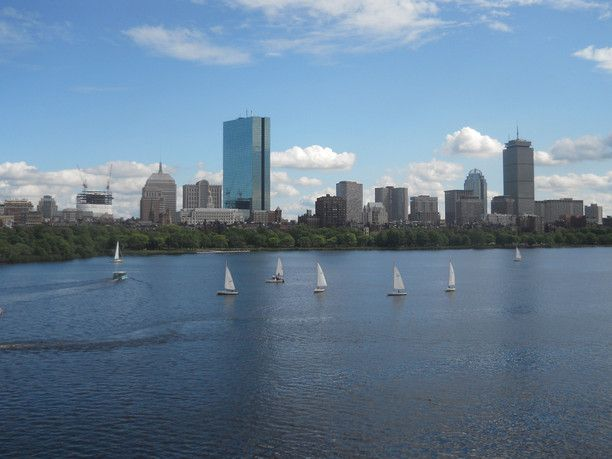 Boston, Massachusetts — by City Bitches Abroad. Boston is a very walkable city. This is a view from the Longfellow Bridge that connects Boston & Cambridge of the...