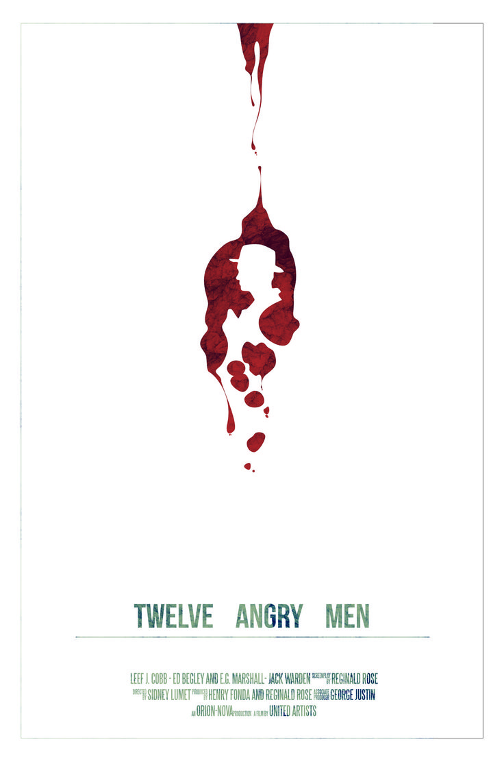 Poster design class 12 - Twelve Angry Men Playbill Cover Design By Shauna Jacobs