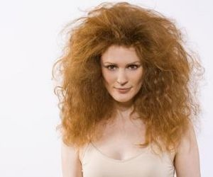 Tame thick, frizzy hair. --> some good advice!
