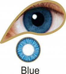 MesmerEyez Illusionz 1 Month Blue Contact Lenses