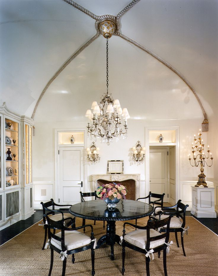 25 Traditional Dining Room Design Ideas Vaulted Ceiling LightingVaulted