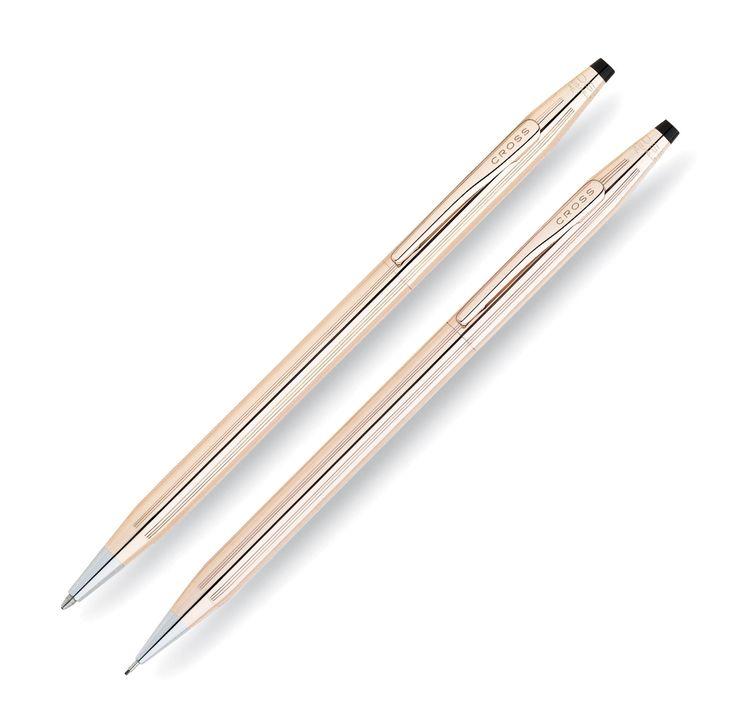 Cross Classic Century 14 Karat Gold Filled / Rolled Gold Pen & Pencil Set