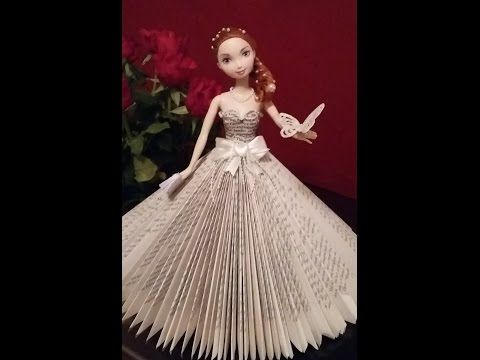 Book folding - Doll book fold - YouTube