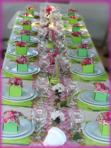 décoration de table anniversaire adulte