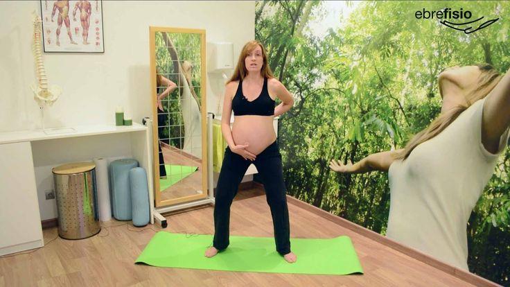 Ejercicios para embarazadas en el tercer trimestre