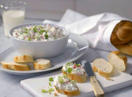 Deník Dity P. - Ředkvičková pomazánka s cottage sýrem