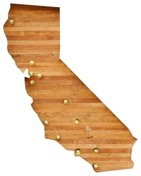 "Entryway idea - California Marquee Light, 96"" X 84"" midcentury lighting"