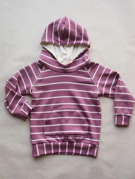 Brindille and Twig Free Raglan Hoodie Pattern - Kids Pattern