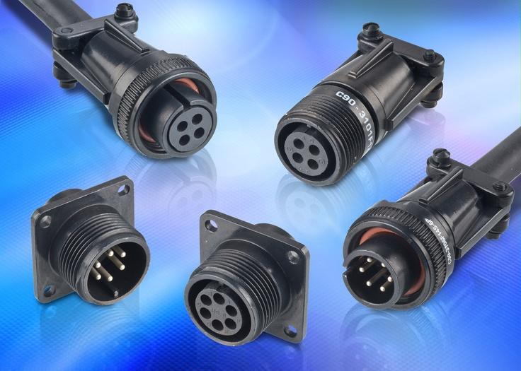 Key range of RoHS compliant circular connectors for industrial and commercial applications.. #connectors