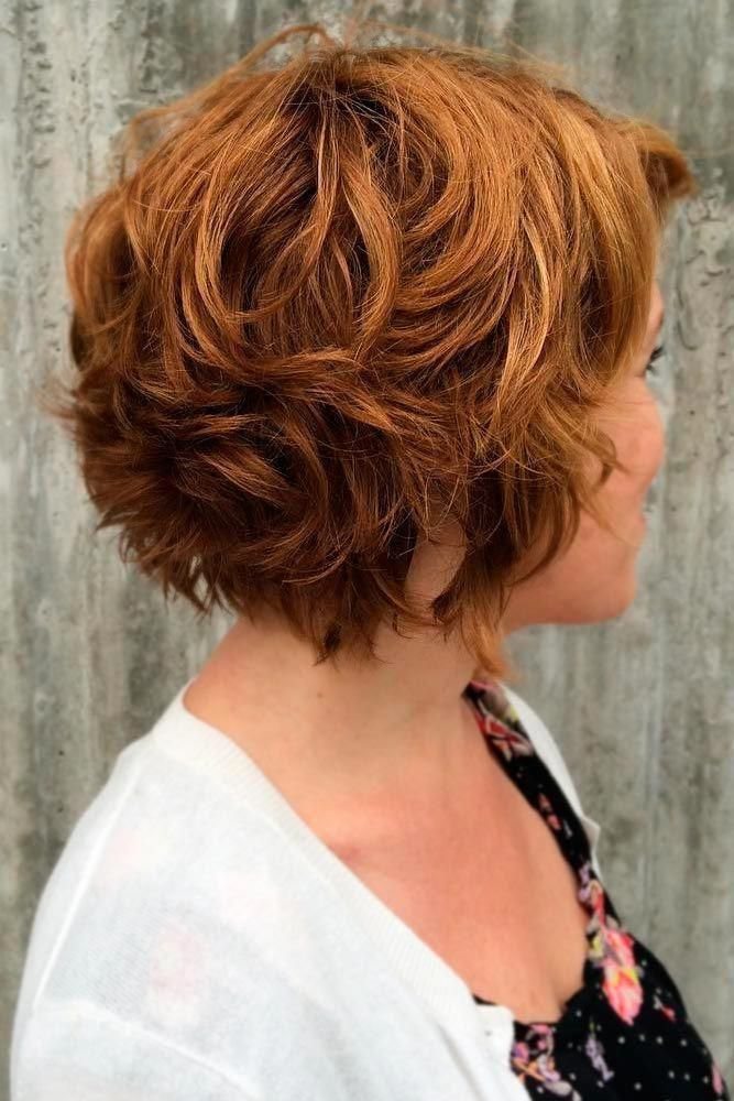 Short Haircuts For Women Over 50 That Take Years Off Glaminati Com Short Wavy Haircuts Trendy Short Haircuts Hair Styles