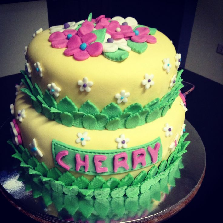 Ms. Cherry Miranda's bday cake