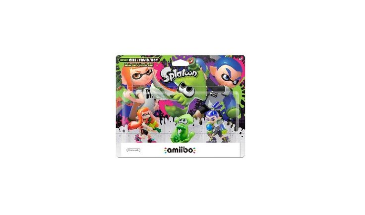 Nintendo amiibo Splatoon 3pk Inkling Boy Inkling Girl & Inkling Squid Figures for $17.50 at Target