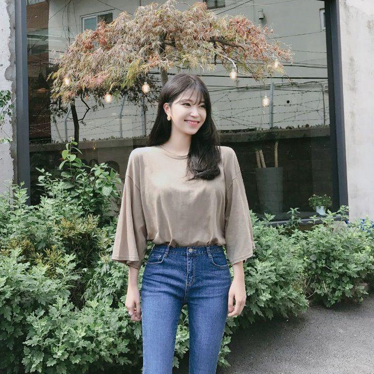 ♡コットン七分袖ルーズTシャツ♡ #レディースファッション #ファッション通販 #ファッショントレンド #新作 #最新 #モテ服 #韓国ファッション #韓国レディース通販 #ootd #wiw  #fashionaddict #womensfashion #fashion  https://goo.gl/x7hnvS