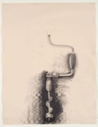 Im obsessed with these intentionally unfinished tool drawings by Jim Dine.  I am definitely doing this with my high schoolers when we start value next week!