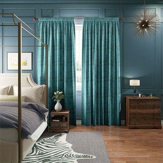 Best 25 Aqua Curtains Ideas On Pinterest
