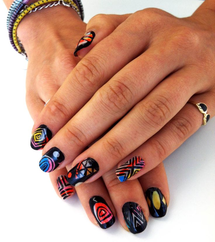"Mike Perry ""Held Tight"" #nailart"