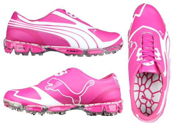 The brand new, signature golf shoe of Rickie Fowler for 2013. The Amp Cell Fusion is now available EXCLUSIVELY at Golfposer in the stunning Cabaret Pink in the UK & Ireland!