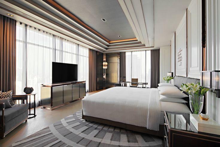 Bangkok Marriott Marquis Queen S Park The Sky Suite Master Bedroom Guestroom Guestbathroom Hotels Hotels Room Luxurious Bedrooms Hotel