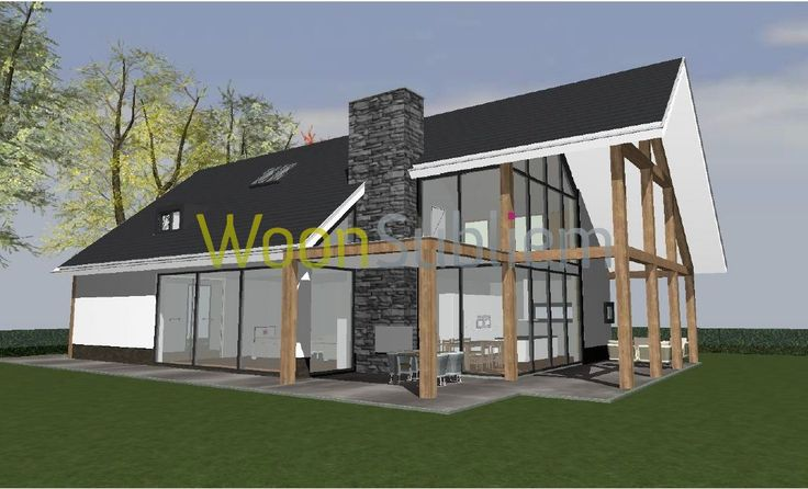 Schuurwoning schuurhuis woonsubliem emmeloord huizen for Huizen architectuur