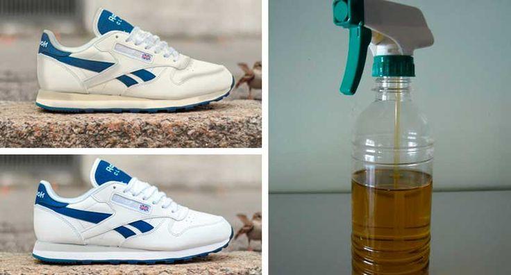 Solo haz este truco y tendrás tus zapatillas blancas como recién compradas otra vez