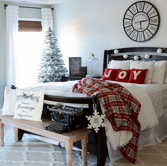 updating your bedroom for winter home bunch interior design ideas - Christmas Bedroom Decor Ideas