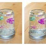 Easy Sticker Snow Globe Craft