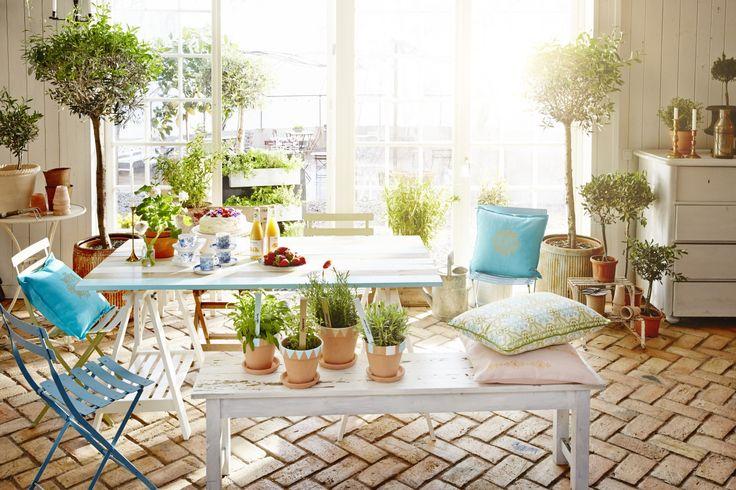 Inspirerande hemmaprojekt som passar perfekt till uterummet, terrassen eller altanen. Läs mer på www.anza.se