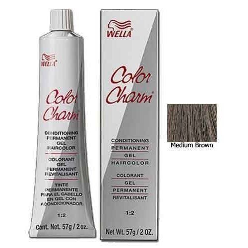 Gel Permanent Tube Hair Color 411/4N Medium Brown by Wella *** Check out the image by visiting the link. #hairfashion