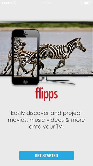 Flipps HD - Watch Movies, Music Videos, Clips, Shows, Sports Channels & News Highlights Online For Free or Stream All Media to your TV Flipp... 단말기 있는 영상 이나 사진을 티비 로 바로 감상