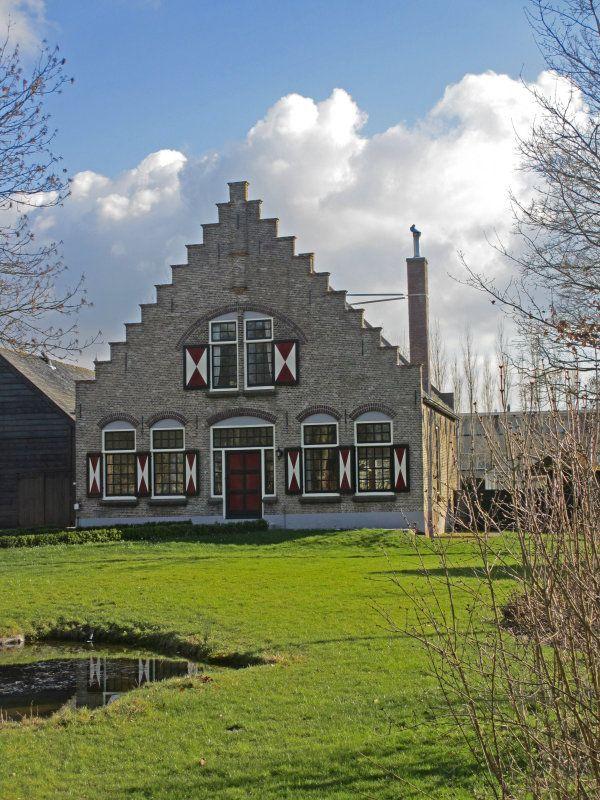 Boerderij, Dirksland, Zuid-Holland, Netherlands