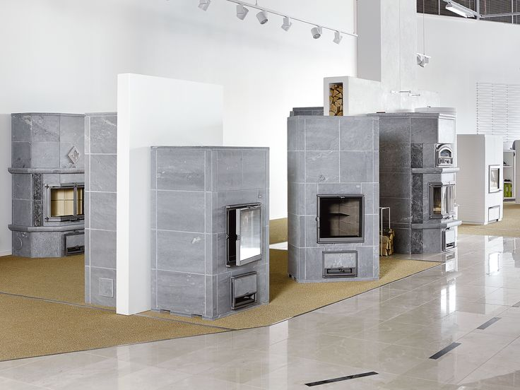 Soapstone fireplaces by Tulikivi at Tammisto.