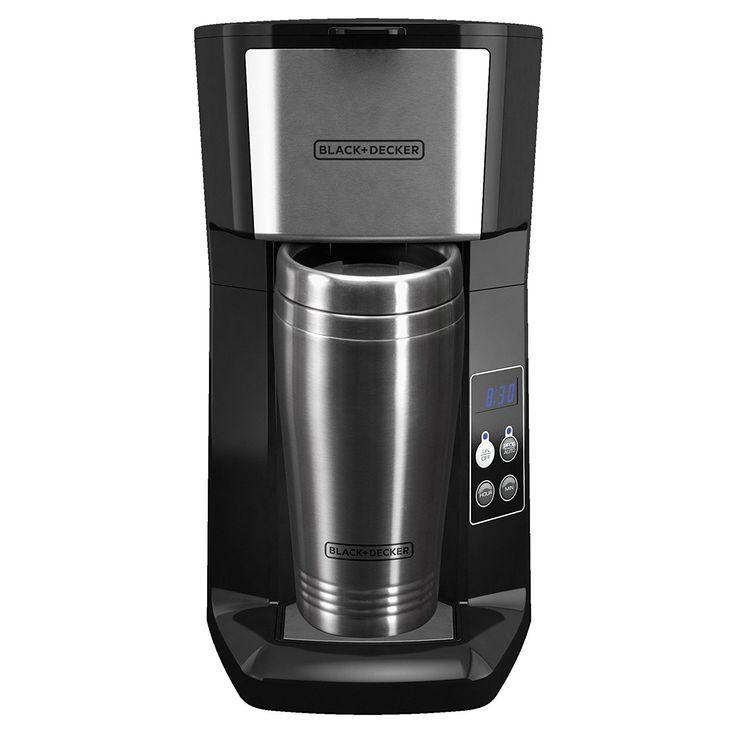 Blackdecker cm625b programmable single serve coffee maker
