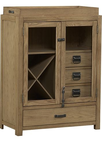North Shore By Nautica Bar Cabinet, | Havertys Furniture