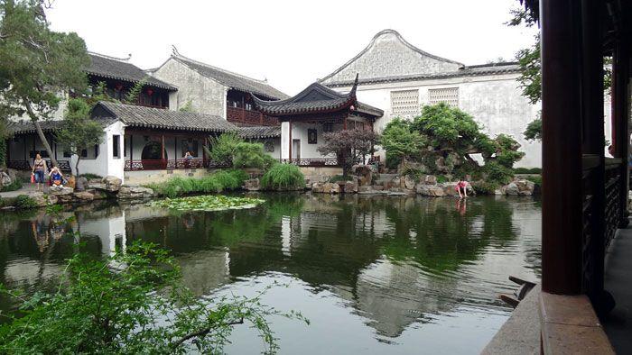 Los jardines de Suzhou en China
