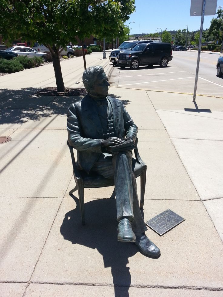 Millard Fillmore statue in Rapid City, South Dakota