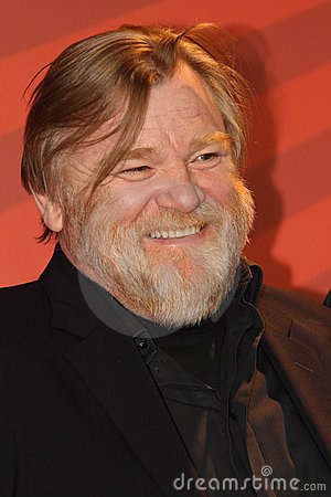 Irish actor Brendan Gleeson ~ one of my son's favs!  (b. 1955) Some of his best-known films include BRAVEHEART, GANGS OF NEW YORK, IN BRUGES and the HARRY POTTER series.  He is noted as being jolly, and very kind.  He plays the fiddle beautifully (it goes everywhere with him).