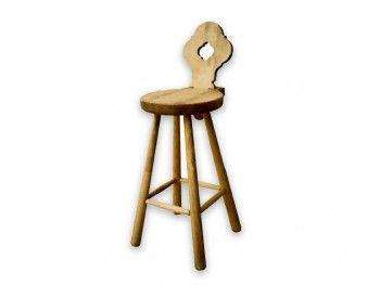 Barová židle ze smrkového dřeva Mexicana 1
