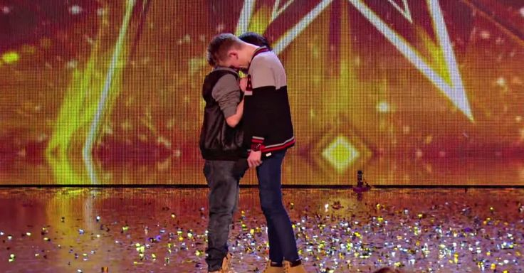"""Two teenage boys wowed the Britain's Got Talent judges with their rendition of """"Hope,"""" changing the rap verses to reflect their feelings on anti-bullying."""