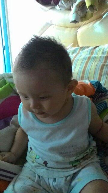 My baby so cute >.<