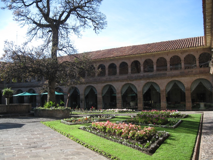 Hotel Monasterio in Cuzco, Peru is a former monastery and features oxygen in the rooms since the altitude is 11,2000 feet http://www.monasteriohotel.com/web/ocus/hotel_monasterio.jsp