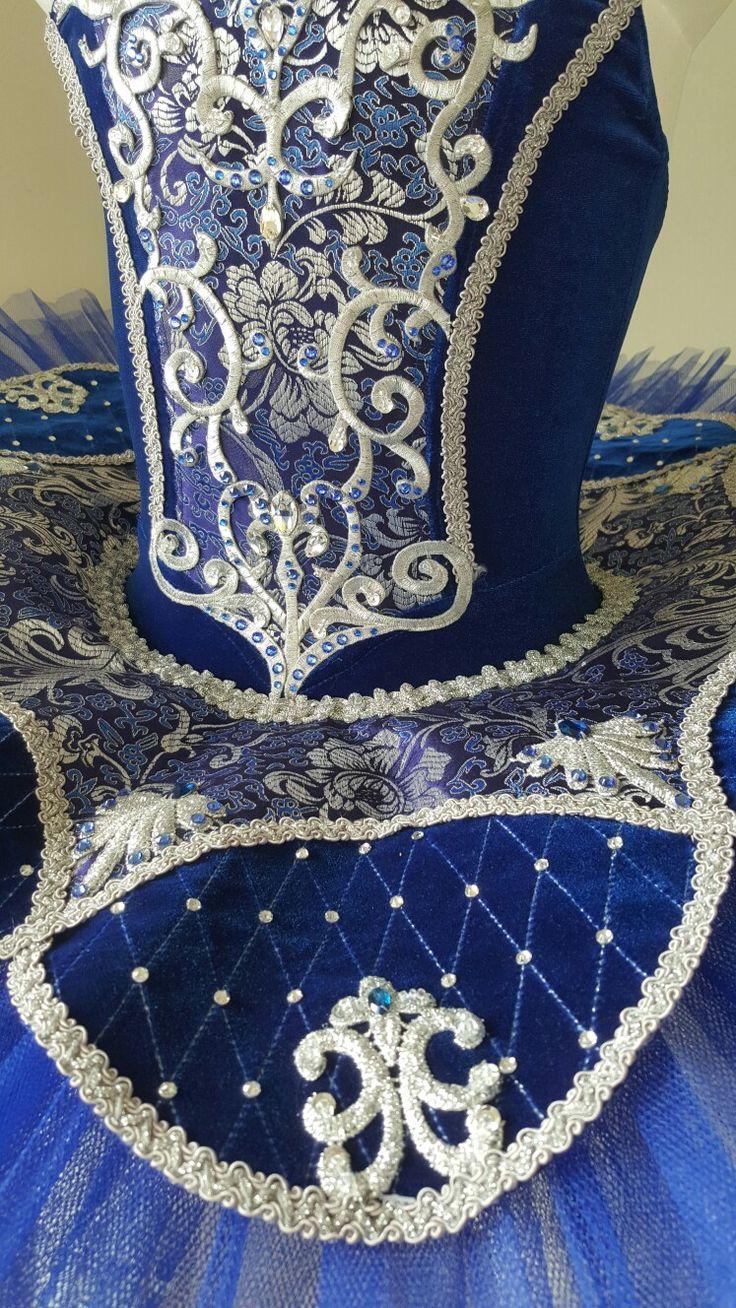 Classical tutu Blue velvet  JeTutus   Follow on facebook