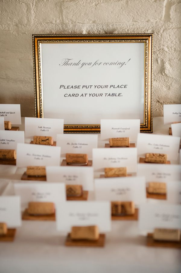 silver heart wedding place card holders%0A wedding escort card ideas