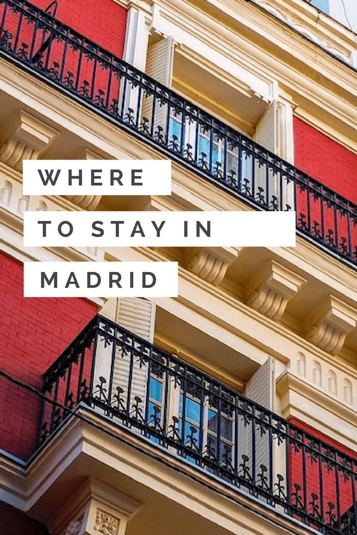 Where to Stay in Madrid guide!