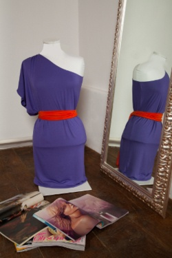 Purple & orange by IS Clothing