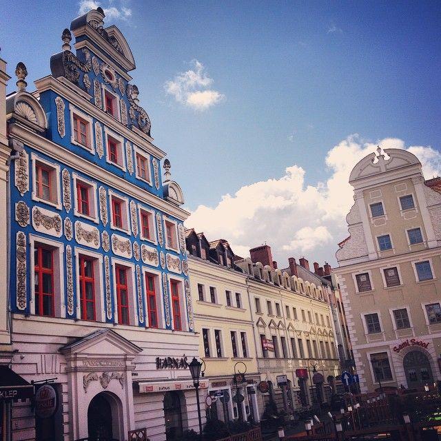 Szczecin on an early spring day - Poland