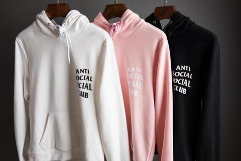 """""""ANTI SOCIAL SOCIAL CLUB"""" HOODIES"""
