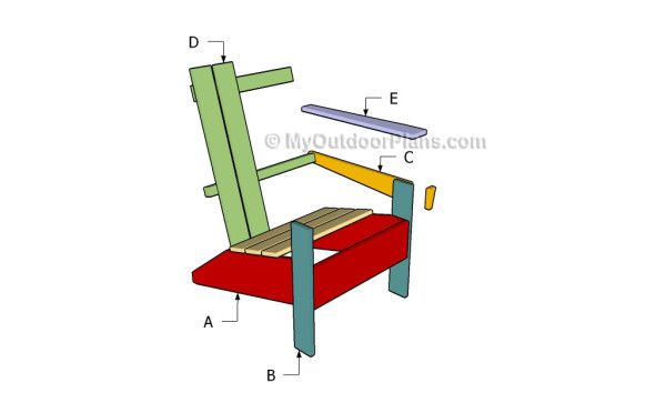 Building an adirondack chair | Outdoor Furniture Plans ...